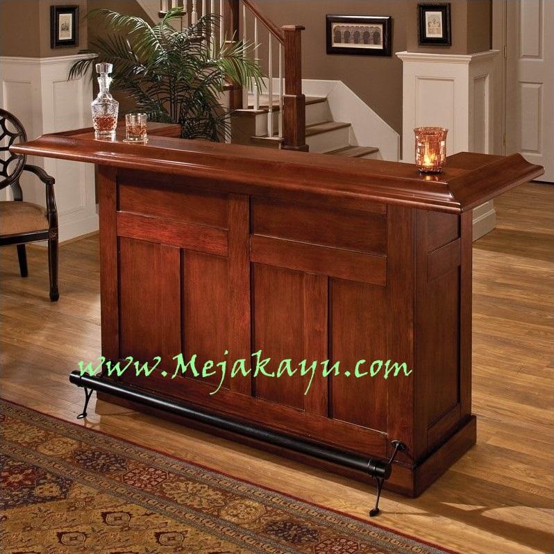 Meja Foyer Minimalis : Jual meja bar jati minimalis toko kayu