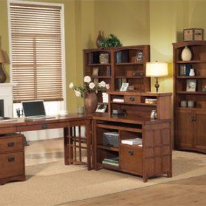 Meja Kantor Kayu jati Minimalis Modern
