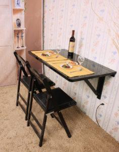 Meja Makan Dinding