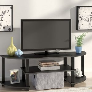 Meja Tv Setengah Oval
