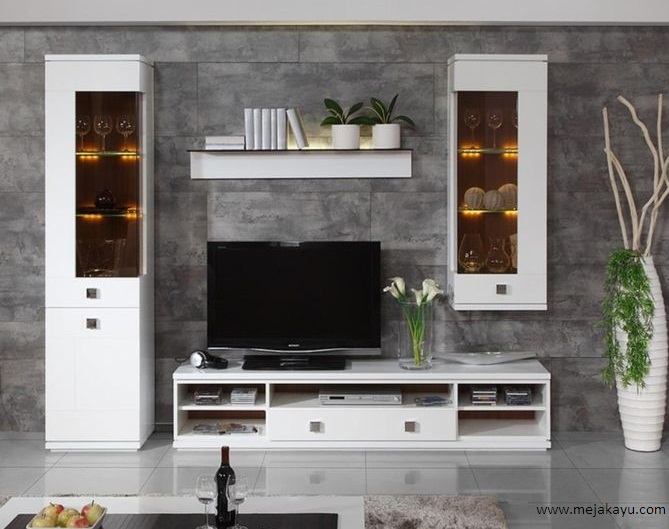Set Meja Tv Minimalis Modern