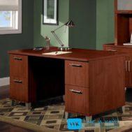 Meja Kantor Jati Satu Biro