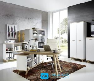 Set Meja Kantor Model Scandinavian
