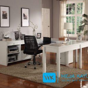 Set Meja Kantor Minimalis Duco