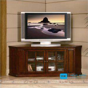 Meja TV Jati Sudut