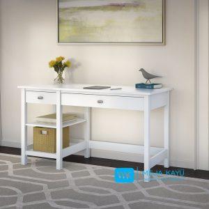 Meja Kerja Putih Sedehana