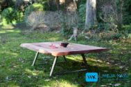 Meja Tamu Besar Kayu Trembesi Solid